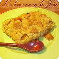 Crumble de nectarines