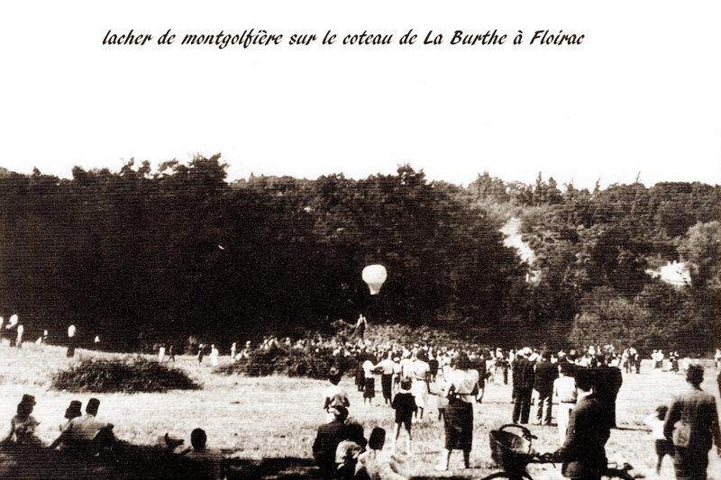 lacher de montgolfière à Floirac