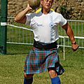 Open highland games france: le geste auguste du lanceur