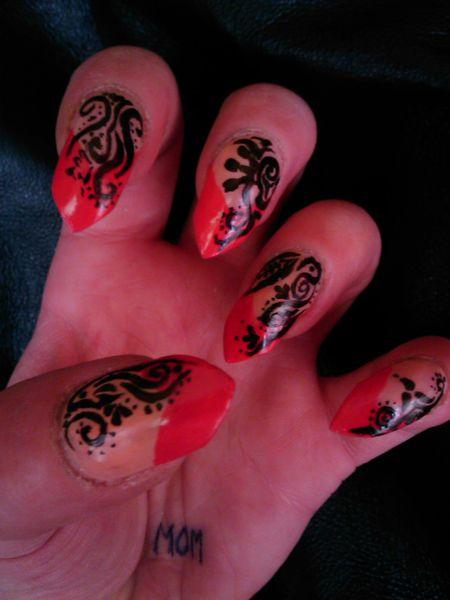 les ongles en folie