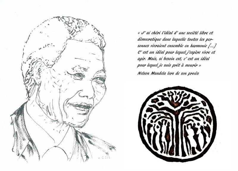 Madiba et l' arbre à palabres