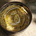 Houmous de soja jaune au curcuma