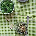 Boulettes de quinoa à la courgette et parmesan