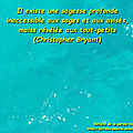 Sagesse profonde - christopher bryant (citation)