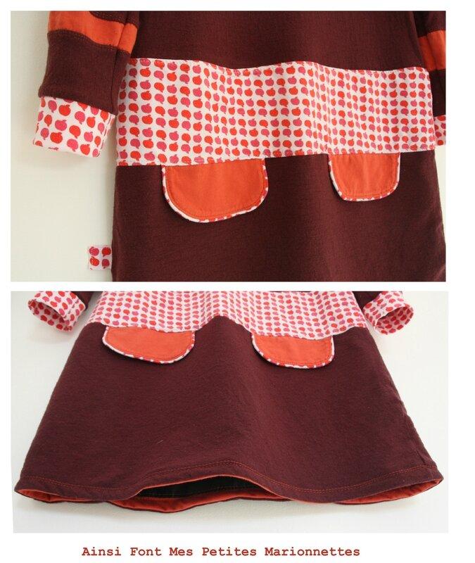 robe pommes de laine 5