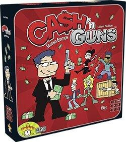 Boutique jeux de société - Pontivy - morbihan - ludis factory - cash n guns V2