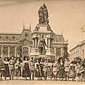 Quid de la carte photo des alsaciennes & des militaires devant le monument des 3 sièges de belfort ?