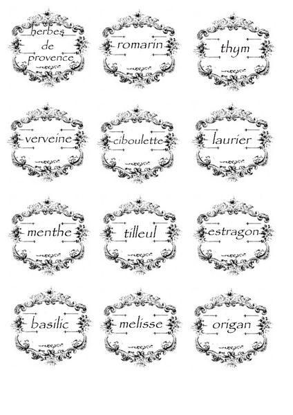 etiquette épice