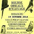 Bourse aux oiseaux - cormontreuil 2014