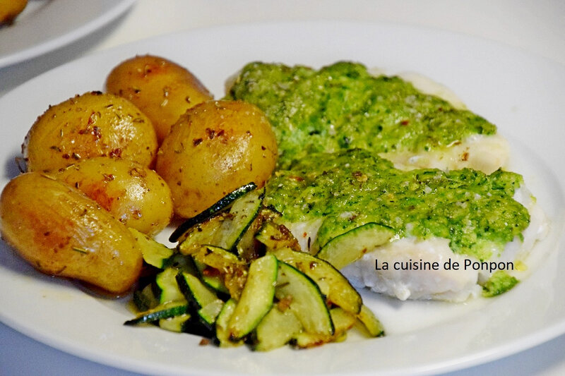 cabillaud et pesto courgette (6)