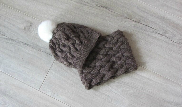snood marron 4