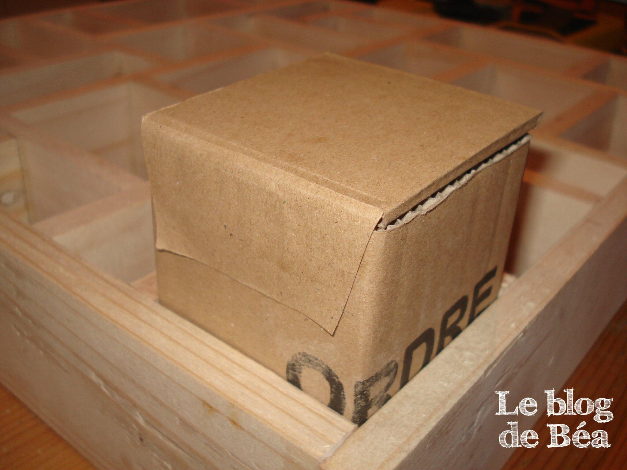 DIY calendrier de l'Avent en bois de palette et carton de récupération