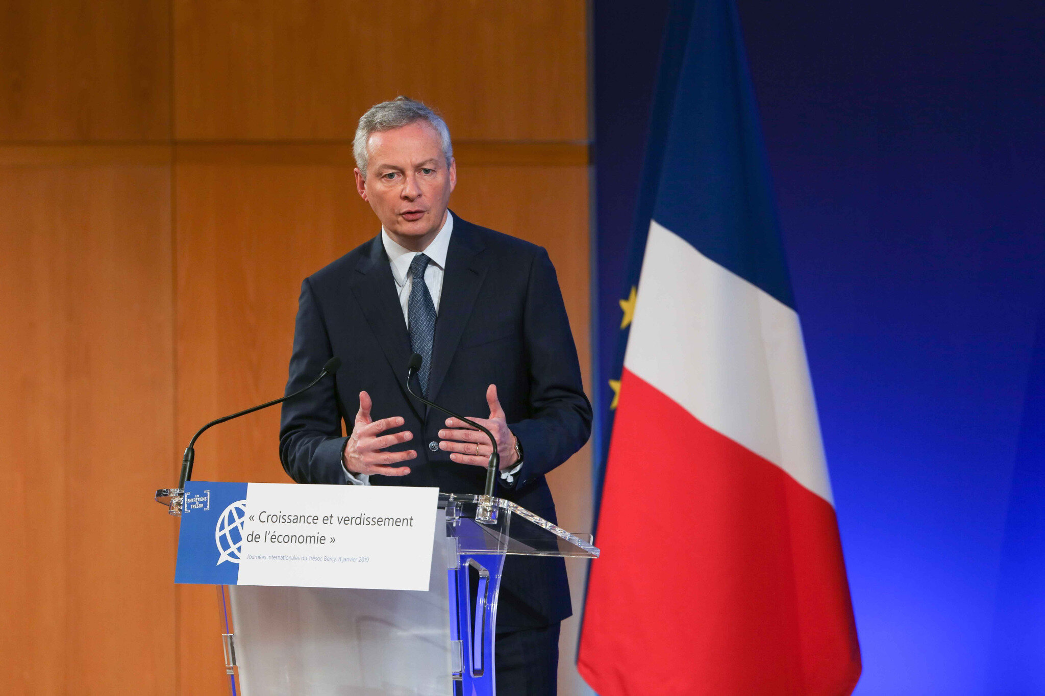 Taxe d'habitation : Bruno Le Maire veut « aller au bout de la suppression ». © Michel Stoupak.Mar 08.01.2019, 09h00m00.