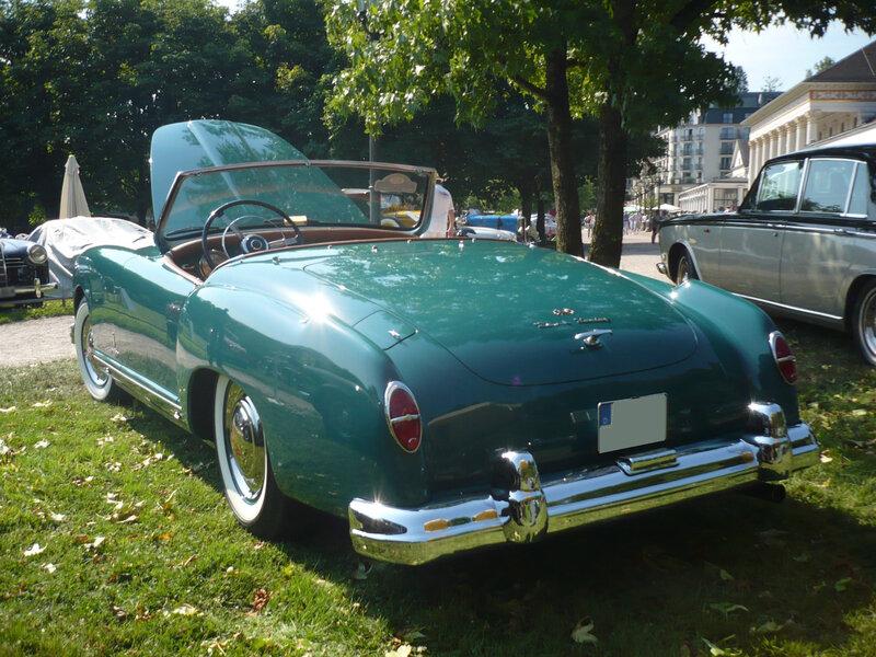 NASH Healey roadster Pininfarina 1952 Baden Baden (2)