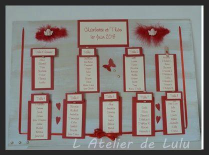 plan de table mariage ange et plumes