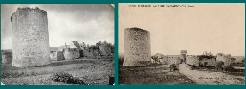 Seringes et Nesles, château de Nesles