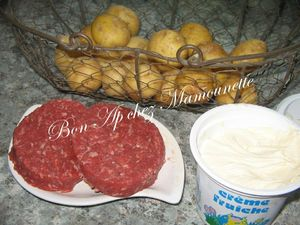 Bonnottes au steak et à la crème de la ferme de la Goulpière 001