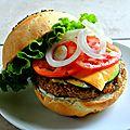 Veggie burger 100% home made