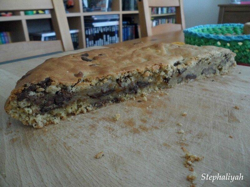 Cookie géant banane chocolat pécan - 5