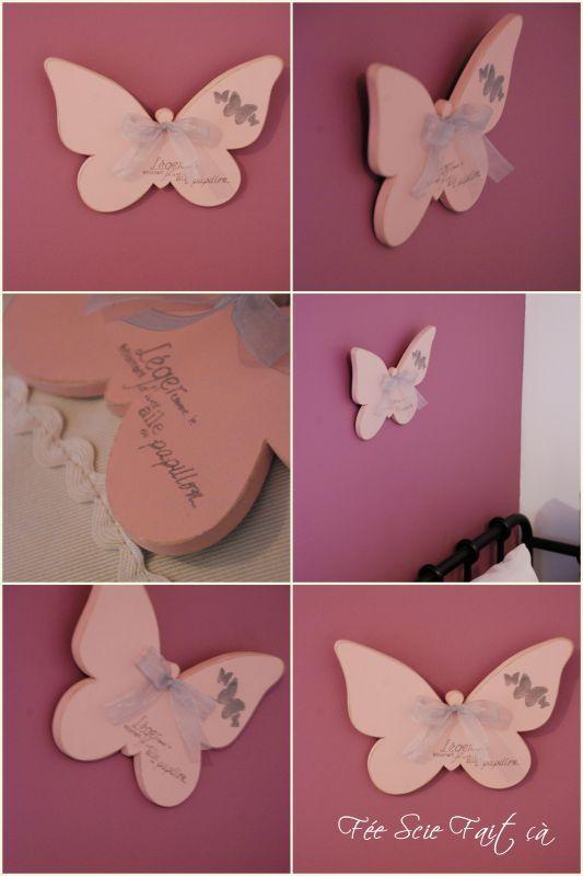 papillon mural