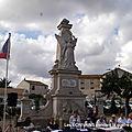 Centenaire 14-18 :lectures au monument du souvenir