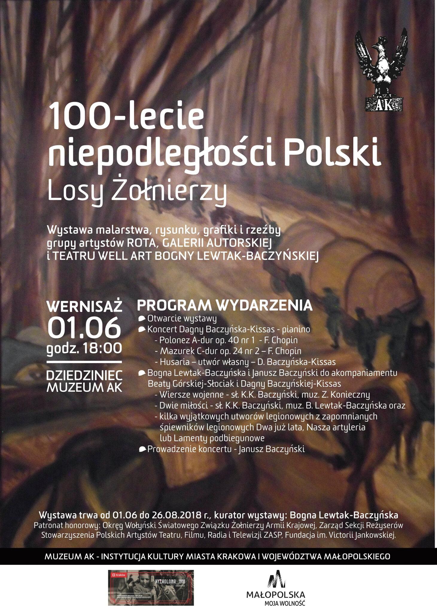 """""""Losy Żołnierzy"""" - wystawa z okazji 100-lecia niepodległości Polski """""""