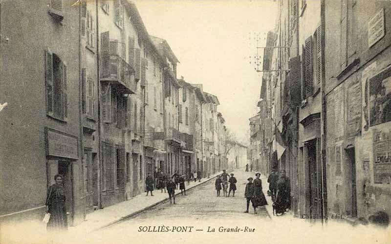 Solliès-Pont Grande-Rue