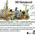 Sketchcrawl mondial le 29 juillet