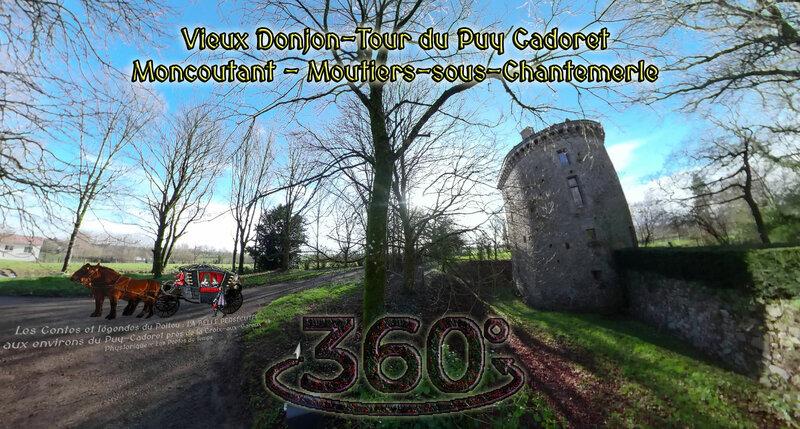 Les Contes et légendes du Poitou LA BELLE PERSÉCUTÉE aux environs du Puy-Cadoret près de la Croix-aux-Garoux Moncoutant - Moustiers sous Chantemerle