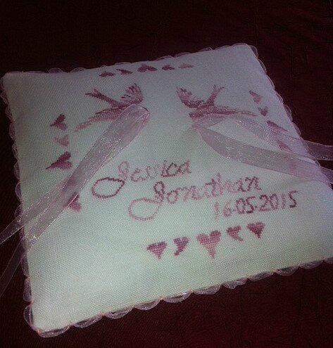 Coussin mariage1