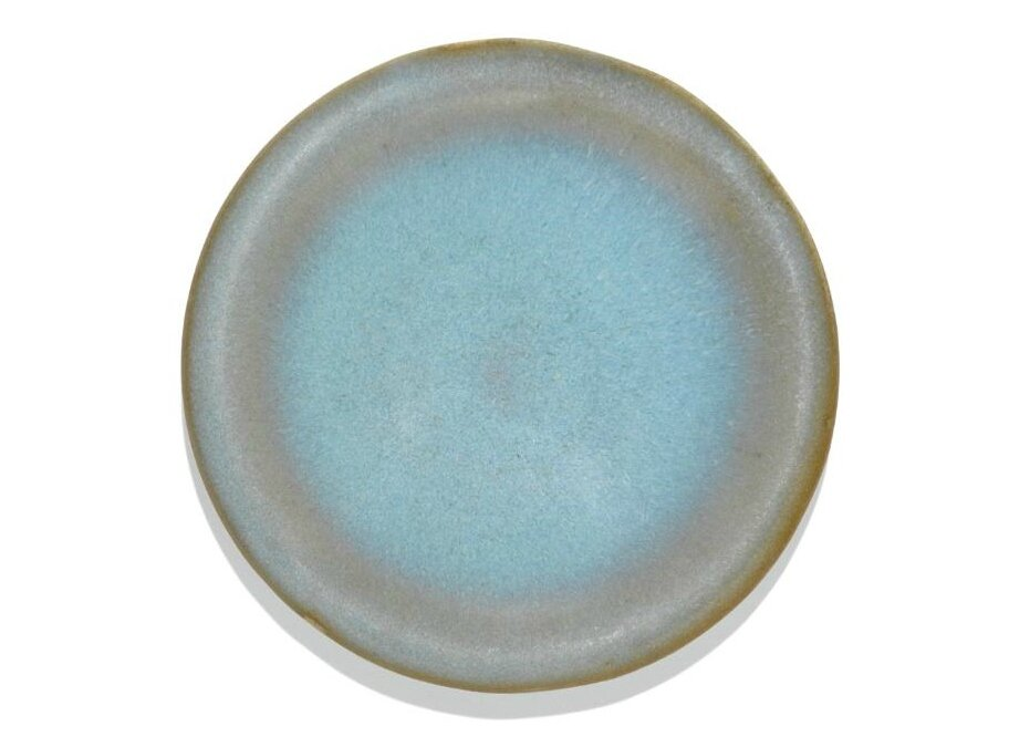 A small 'Jun' blue-glazed saucer dish, Song dynasty