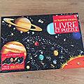 Nous avons découvert le coffret livre puzzle le système solaire des editions usborne
