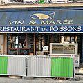 Vin & marée paris restaurant