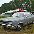 Amc rambler renault rebel automatic berline 4 portes 1967
