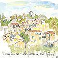 Vieussan village