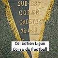 05 - ligue corse de football - album n°232 - fanions