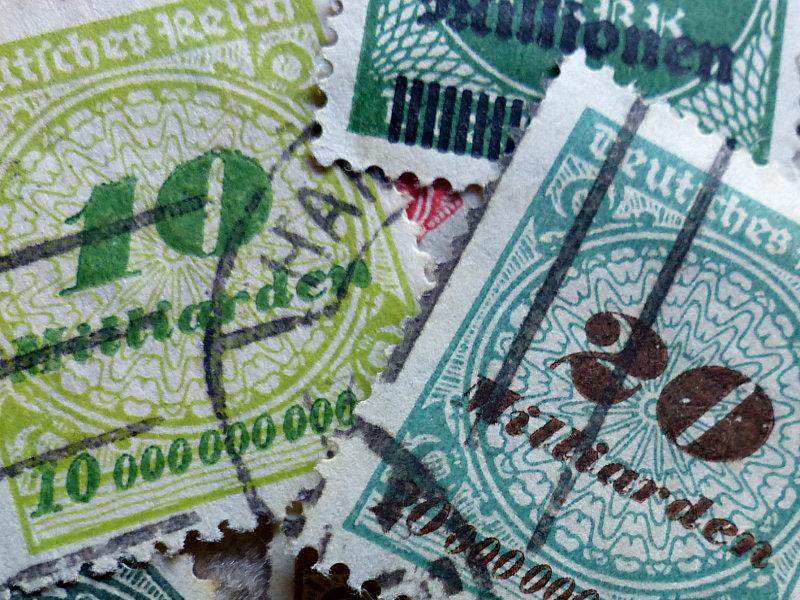 1924-deflation en Allemagne