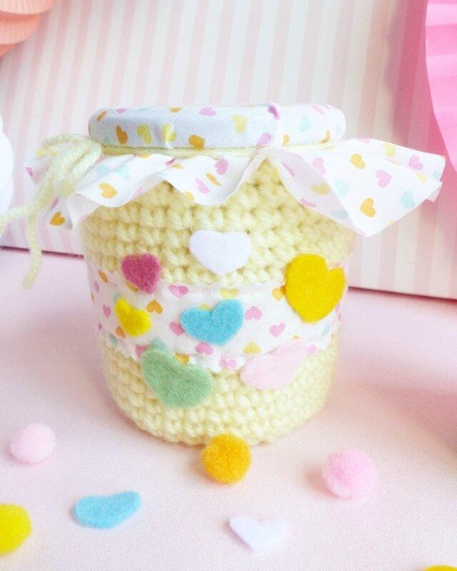 crochet-bonbonnière-bocal-emballage-cadeau-10