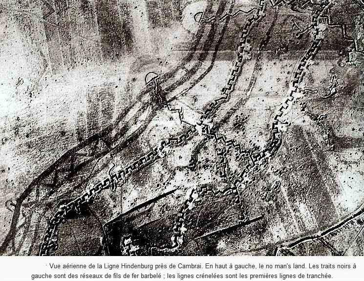 Ligne Hindenburg tranchées