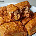 Mini cake apéro au chorizo et graines de lin.