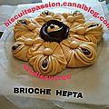 BRIOCHE TORSADEE BICOLORE 088