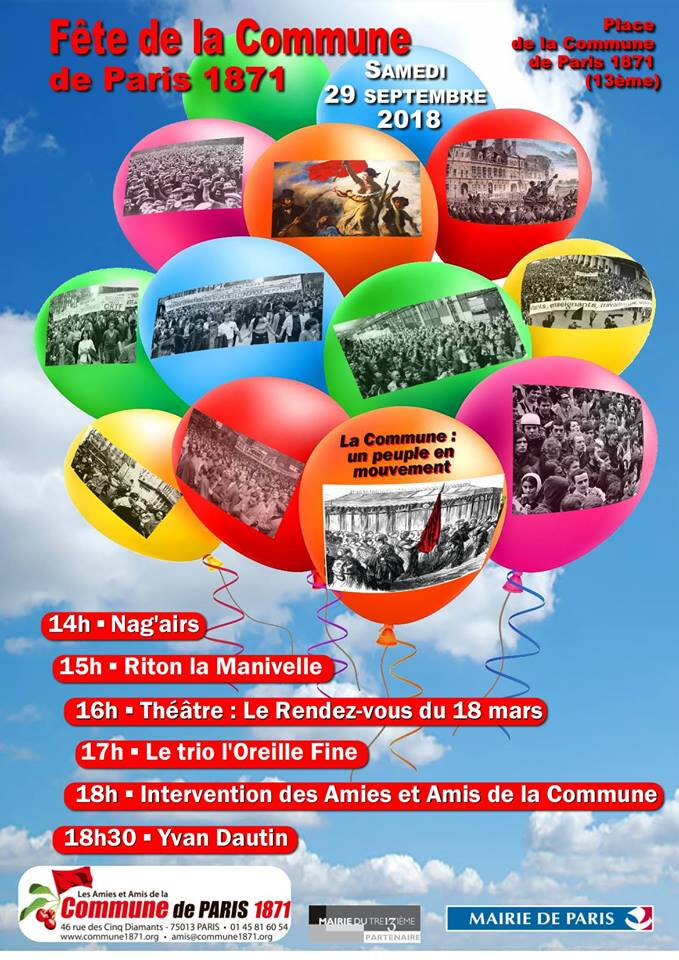 Fête de la Commune de Paris 2018