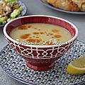 Mercimek çorbası - soupe turque aux lentilles corail