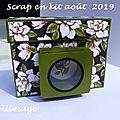Scrap en kit : mini album appareil photo
