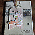 Carte secrète sur little scrap