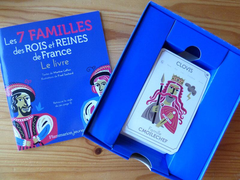 Les 7 familles des Rois et Reines de France (1)