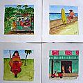 Tahiti aquarelles 2