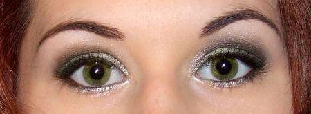 yeux vert
