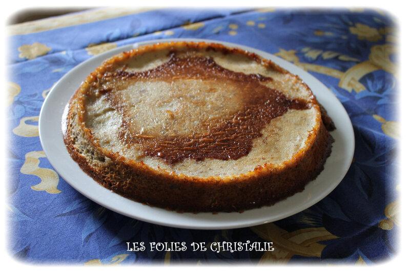 Gâteau mousse bananes7