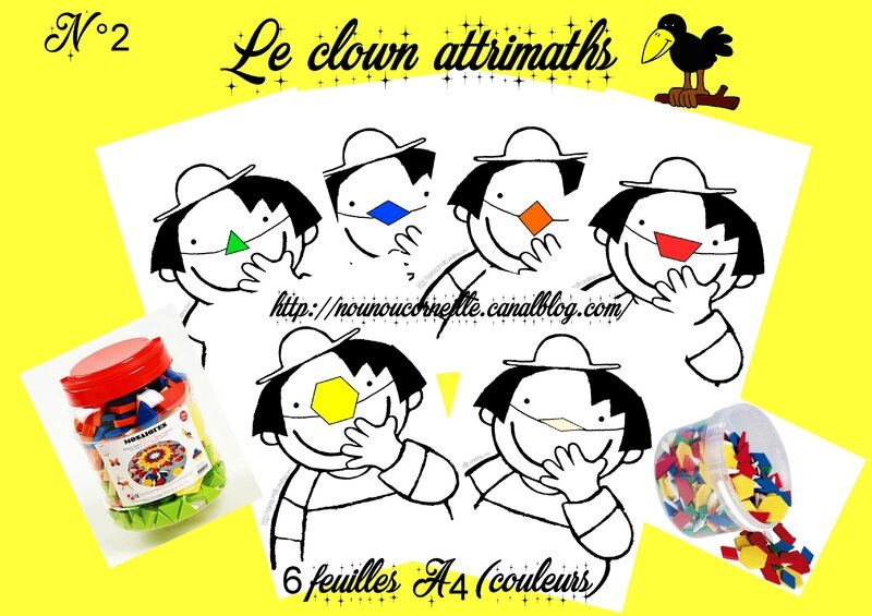 Preview 2 clown attrimaths couleurs